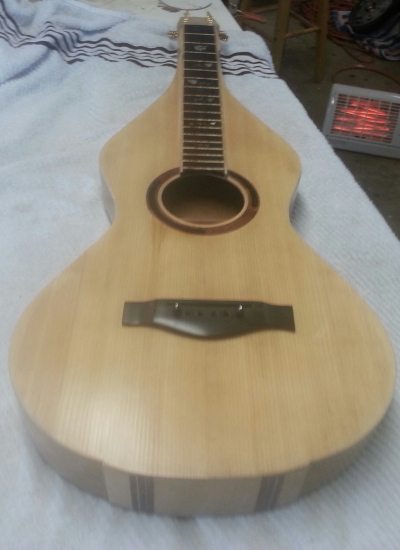 Weissenborn  guitar in progress