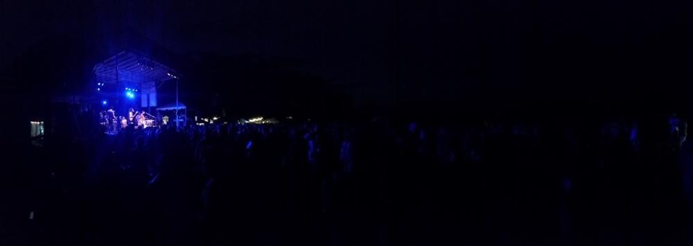 Green River Festival at Night