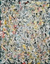 White Light by Jackson Pollock, 1954